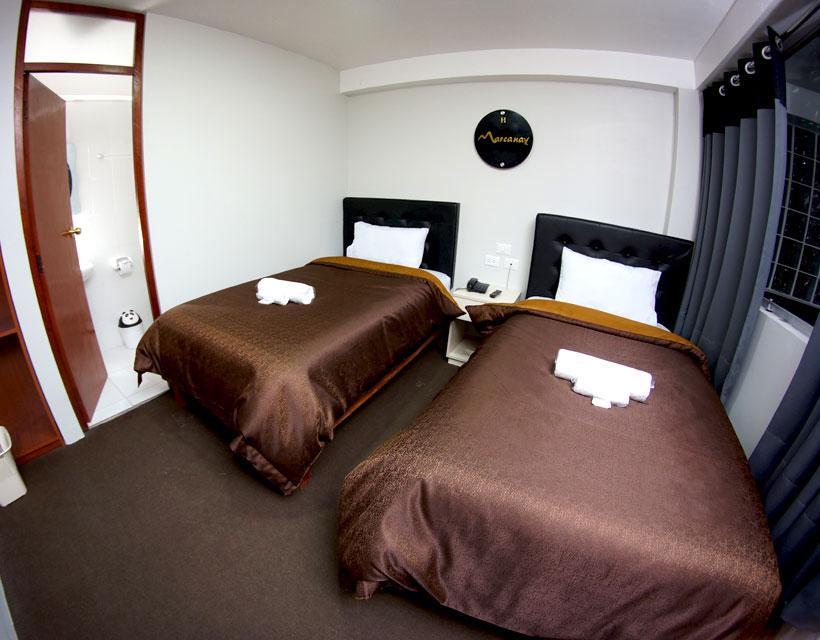 habitacion doble en hotel marcanay